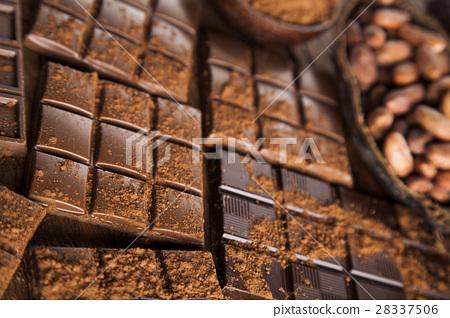 Bars Chocolate , candy sweet, dessert food  28337506