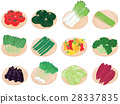 野菜セット <お野菜とざる> 28337835