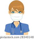 White Male Nurse 28340148