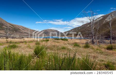 Lake Lyndon, on the Arthurs Pass, New Zealand 28340545