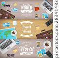 travel, tourism, banner 28341483