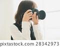 攝影師 一個年輕成年女性 女生 28342973