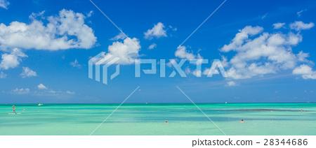 Aruba island. View from the beach 28344686