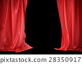 curtain, theater, cinema 28350917