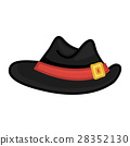 hat isolated illustration 28352130