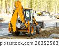 bulldozer, equipment, machine 28352583