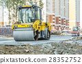 construction, roller, machinery 28352752
