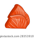 Fish steak of salmon 28353910