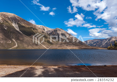 Lake Pearson, Craigieburn Forest Park, New Zealand 28354232
