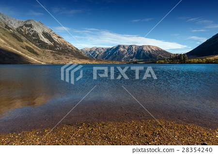 Lake Pearson, Craigieburn Forest Park, New Zealand 28354240