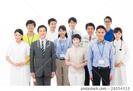 일하는 사람들 28354313