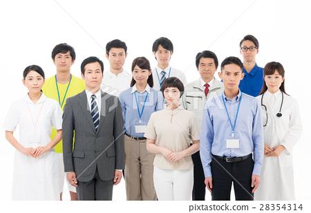 일하는 사람들 28354314