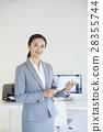 사무실 및 스마트 폰 28355744