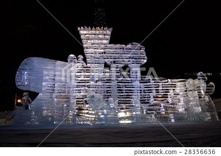 2017 Sapporo Snow Festival Ice Image 28356636