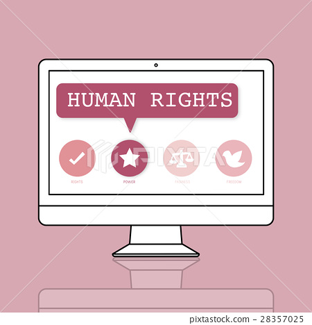 Women Rights Equality Opportunities Fairness Feminism Concept 28357025
