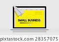 Paper Rocket Startup Business Concept 28357075