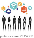 Vector UI Illustration Business People Concept 28357511