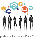 Vector UI Illustration Business People Concept 28357521