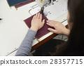 帆布和縫紉機 28357715