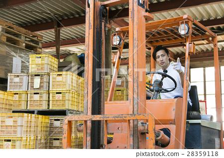 橙色農夫發貨圖像 28359118