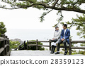 couple, sightseeing, katsurahama park 28359123