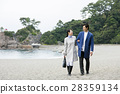 couple, sightseeing, katsura beach 28359134
