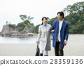 couple, sightseeing, katsura beach 28359136