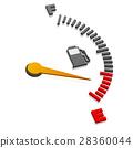 gauge, power, automobile 28360044