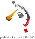 gauge, power, automobile 28360045
