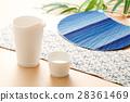 清酒 日本酒 扇子 28361469