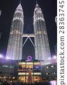 페트로나스 트윈 타워 야경 28363745