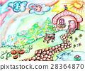 Illustration - a fantastic grandmother house on 28364870