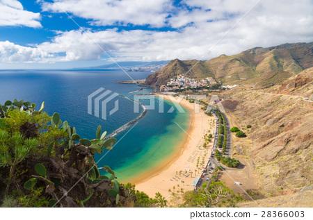 Wonderful view of Playa de las Teresitas beach 28366003