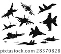 aircraft military silhouette 28370828
