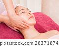 피부 관리실, 페이셜 에스테틱, 마사지 28371874