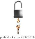 security, lock, padlock 28373016