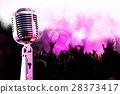 Live music background. 28373417