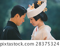 japanese clothing, bridal couple, bride and groom 28375324