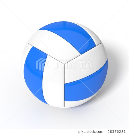simple volleyball ball. 28376281