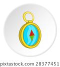compass, cartoon, icon 28377451