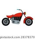 motorcycle, icon, vector 28378370