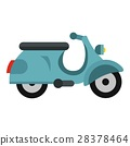 scooter, icon, vector 28378464