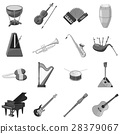 instrument, music, icons 28379067