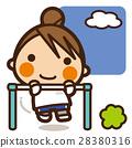 小学生 女孩 少女 28380316