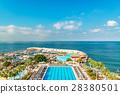 旅游胜地 地中海 海滩 28380501