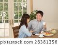 부부, 식사, 중년 28381356
