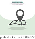 vector icon map 28382022