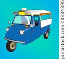 tuktuk, vehicle, retro 28384896