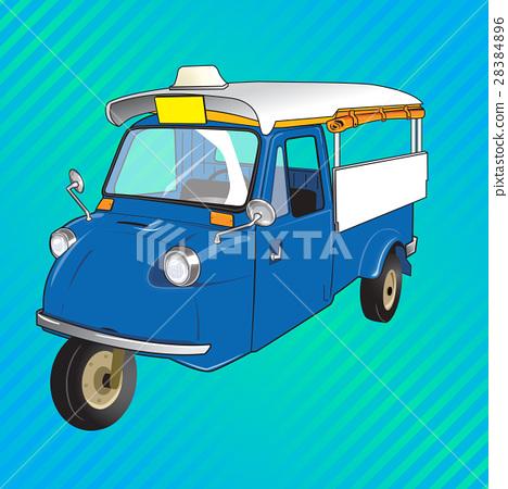 TUKTUK retro vehicle 28384896
