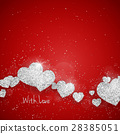 Vector Happy Valentine's Day greeting card 28385051